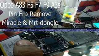Remove Pin & Bypass FRP OPPO YOUTH F7 CPH1859 ( FIX EMMC NAME