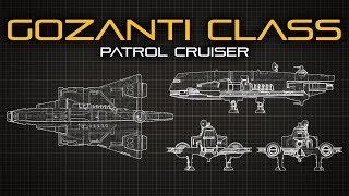 Star Wars: Gozanti Class Patrol Cruiser - Ship Breakdown