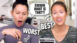 TATI WESTBROOK & I Swap BEST & WORST Makeup...