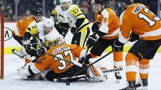NHL Highlights | Penguins vs Flyers – Jan. 21, 2020