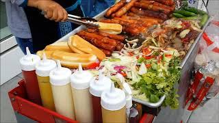 Hot Dog Vendor in SF , sooo...good!