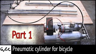 Making an extending bicycle #1