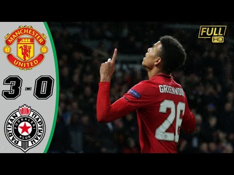 Manchester United vs Partizan 3−0   All Gоals & Extеndеd Hіghlіghts 2019
