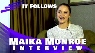 "Maika Monroe  ""It Follows"" Interview (2015)"
