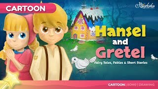 Hansel and Gretel story for children | Animation Fairy Tales & Bedtime Stories For Kids