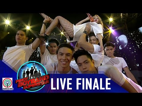Pinoy Boyband Superstar Grand Reveal: Sandara Park & Grand Finalists -