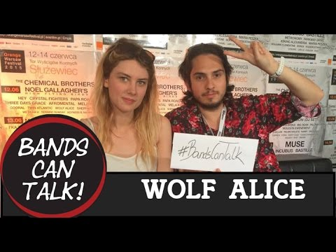 Wolf Alice Interview Orange Warsaw Festival 2015 I Bands Can Talk!
