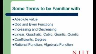 What you should know before taking Calculus