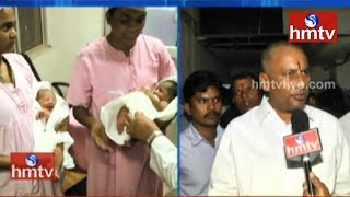 Babies exchange issue resolved for now, at Nacharam ESI Ho..