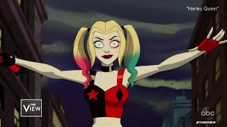 """Kaley Cuoco Talks Voicing """"Harley Quinn"""" and Career Advice 