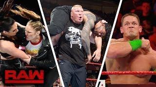 WWE RAW 26 March 2018 Highlights - RAW 3/26/18 Highlights | Full Match Highlights -Roman Reigns