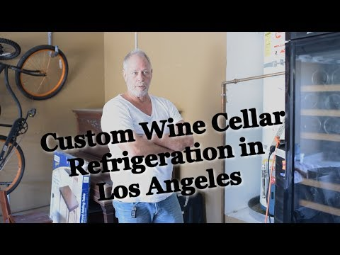 Custom Wine Cellar Refrigeration in Los Angeles: Electrical and Drainage System