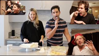 BAKING FOR OUR FRIENDS! (PRACTICING BEING PARENTS) DAVID! JASON! BRANDON! ARMENIAN FAMILY!