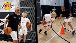 Los Angeles Lakers COACH Puts Me Through NBA Workout!