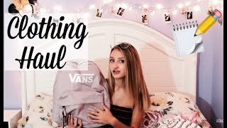 BACK TO SCHOOL CLOTHING HAUL 2018!!!