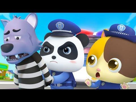 超級警察出動 | 學顏色兒歌童謠 | 卡通 | 動畫 | 寶寶巴士 | BabyBus