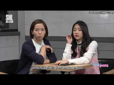 [Türkçe Altyazılı] Taemin SNL Korea - Tsundere Cafe Part 1