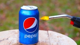 PEPSI VS 3,000 DEGREE GAS TORCH