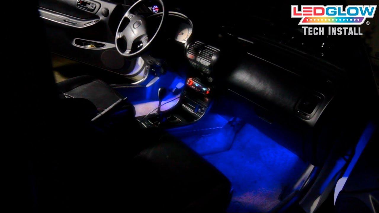 Ledglow S 4 Piece Led Interior Lighting Kit Installation
