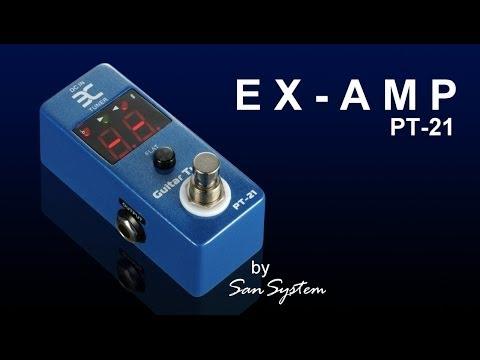 EX-AMP Guitar Tuner PT-21