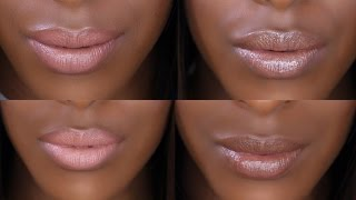 Find the Perfect Nude Lipstick - Too Faced Melted Chocolate | Jackie Aina