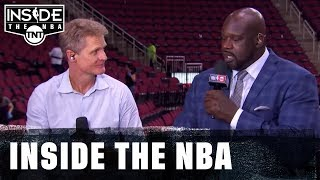 Inside the NBA: Steve Kerr Joins The Inside Guys