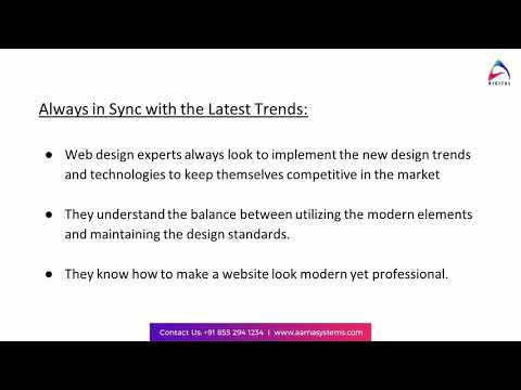 Role of an Experienced Website Design Company for Small Businesses