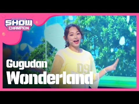 (ShowChampion EP.195) gugudan - Wonderland