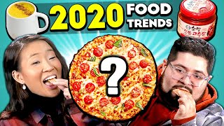 Adults React To And Try 2020 Food Trends