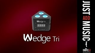 CHAUVET DJ WEDGE TRI in action