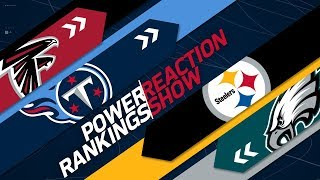 NFL Power Rankings Divisional Round Preview & Reaction Show | NFL Network