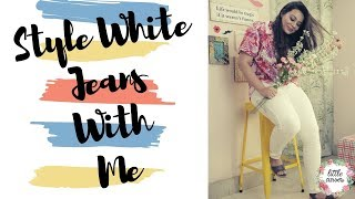 How To Style White Jeans || Wear White With Confidence - YouTube