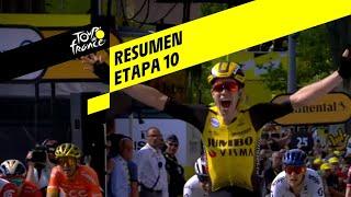 Resumen - Etapa 10 - Tour de France 2019