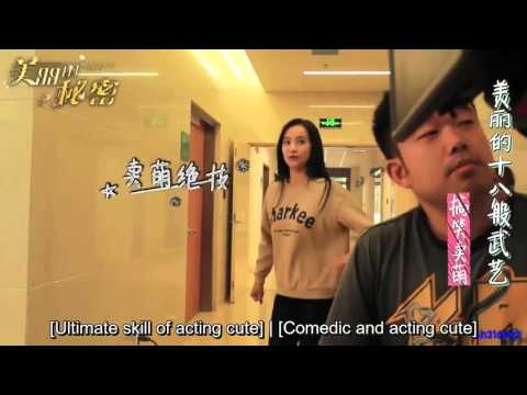 [ENG] 151127 Victoria f(x) - Beautiful Secret BTS