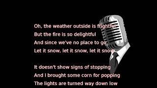Gwen Stefani - Let It Snow (lyrics)
