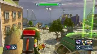 Plants vs. Zombies Garden Warfare - Gardens & Graveyards Gameplay and Commentary