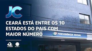 Ceará está entre os 10 estados do pais com maior número de processos atrasados do INSS