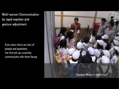 Japanese Robot Actroid-SIT Gets More Social