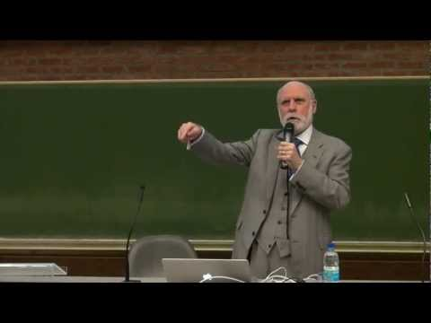 Vint Cerf Presentation at KU Leuven
