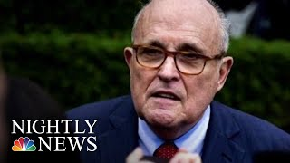 Giuliani: 'I Never Said There Was No Collusion Between The Campaign' And Russia | NBC Nightly News