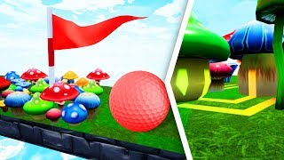 Don't Get Hit By The SECRET TROLL BOOST! - Golf It
