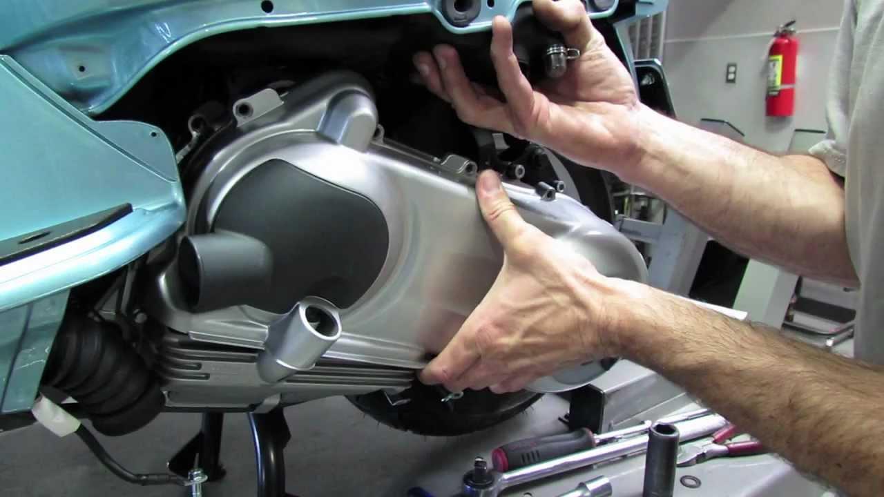 Belt Change Variator Clutch Inspection Vespa Lx150 And