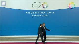 Get me out of here Trump wanders off G20 stage and says 'get me out of here'