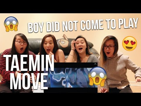 MV REACTION | TAEMIN 태민 'MOVE' #1 MV