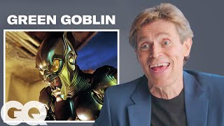 Willem Dafoe Breaks Down His Most Iconic Characters | GQ