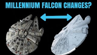 What's up with the Millennium Falcon?