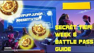 *SECRET* Battle star and Fortnite Week 6 challenges
