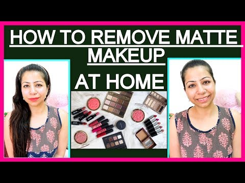 How to Remove Makeup Properly | How To Make Makeup Remover & Makeup Matte at Home