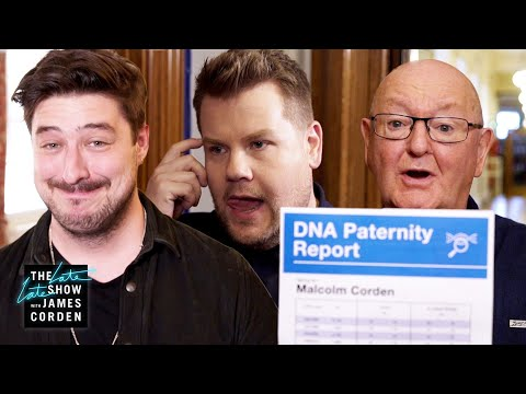 PATERNITY SHOCKER: Marcus Mumford & James Corden Are Related?!