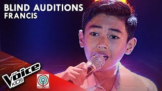 Isa Pang Araw by Francis Indonto | The Voice Kids Philippines Blind Auditions 2019